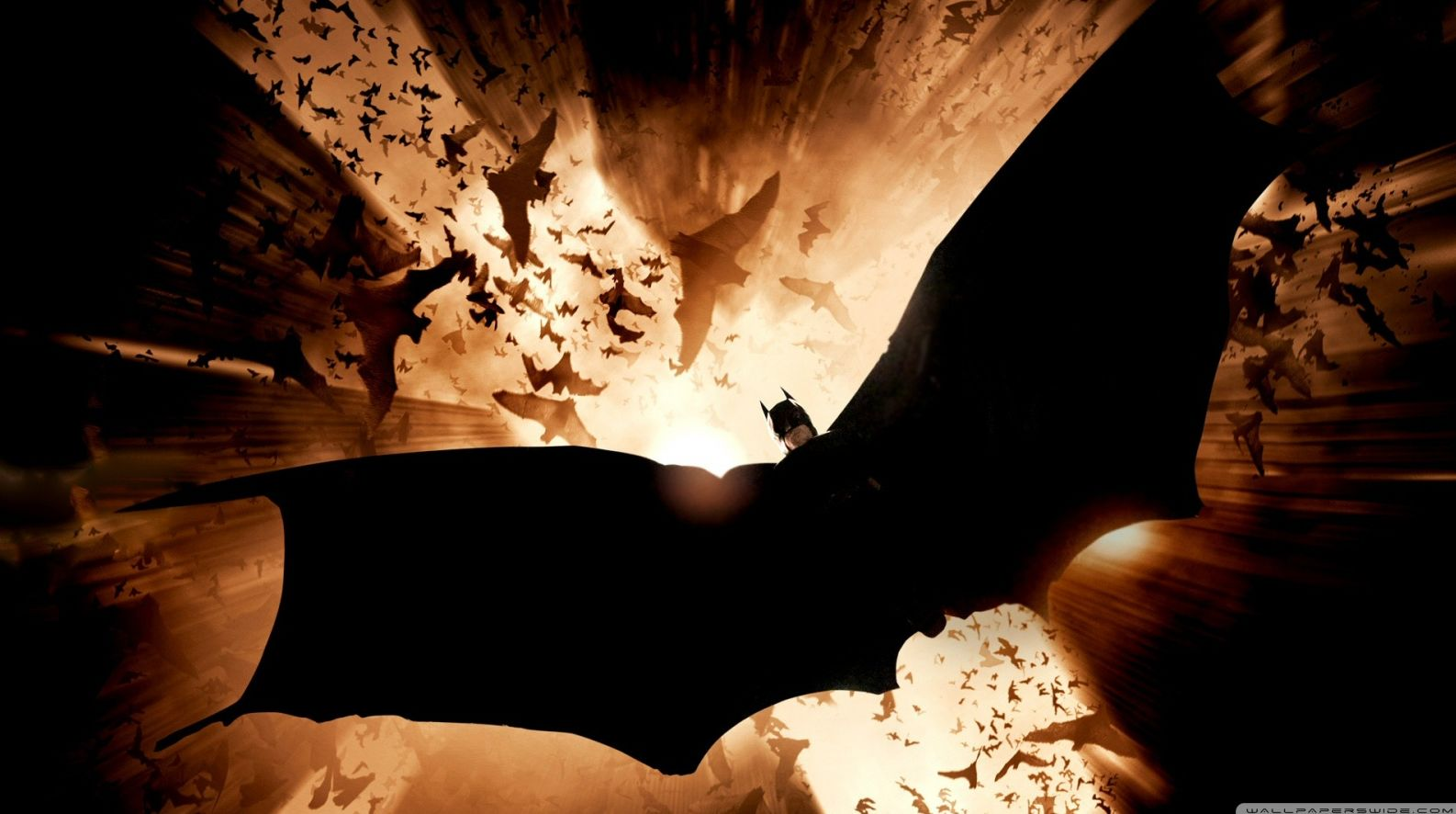 Poster for 2005's Batman Begins