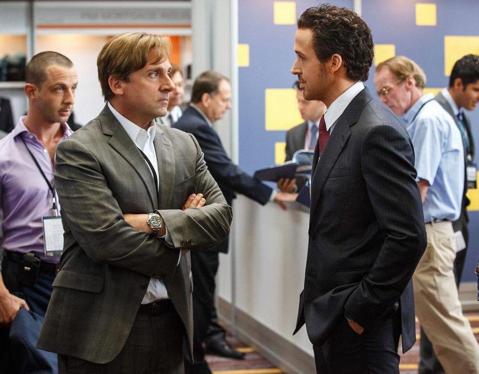 Steve Carell and Ryan Gosling, The Big Short