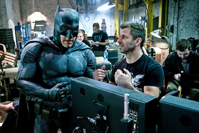 Zack Snyder directs Batman