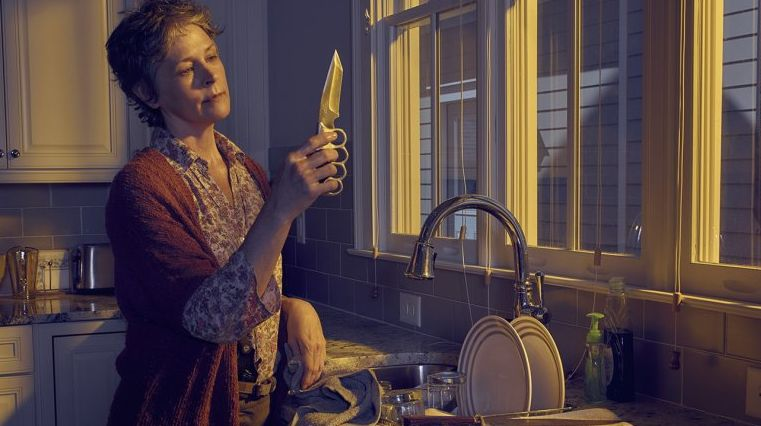 Melissa McBride as Carol in The Walking Dead, Season 6