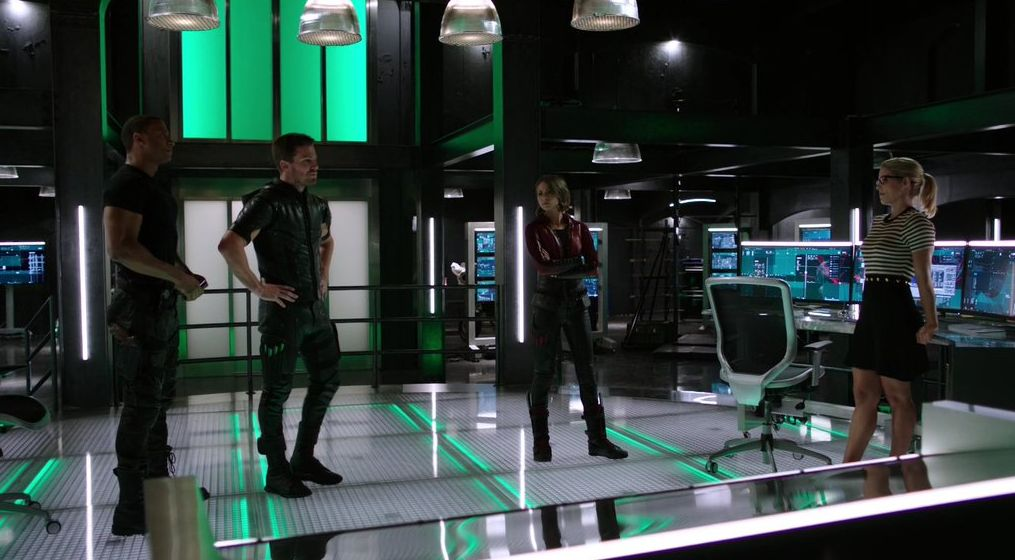 New Arrow lair, photo credit @amellynation
