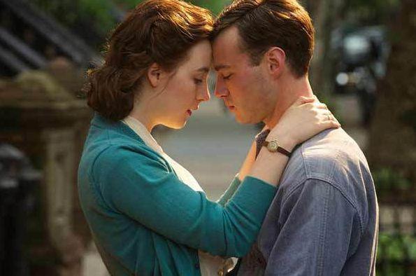 """Brooklyn"" stars Saorise Ronan and Emory Cohen"