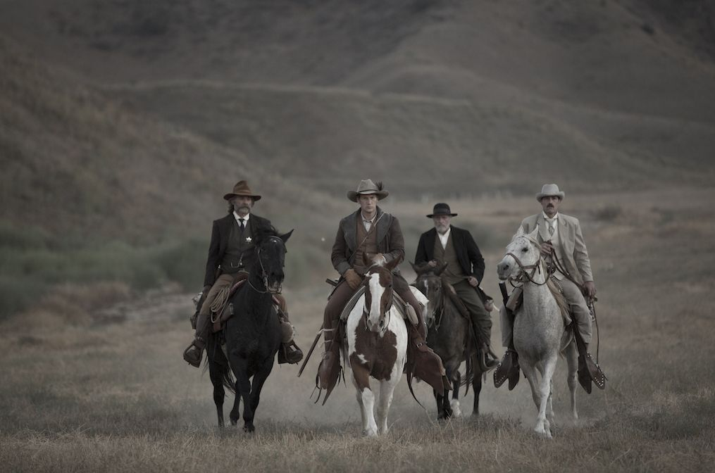 Russell, Wilson, Jenkins and Fox saddled up.