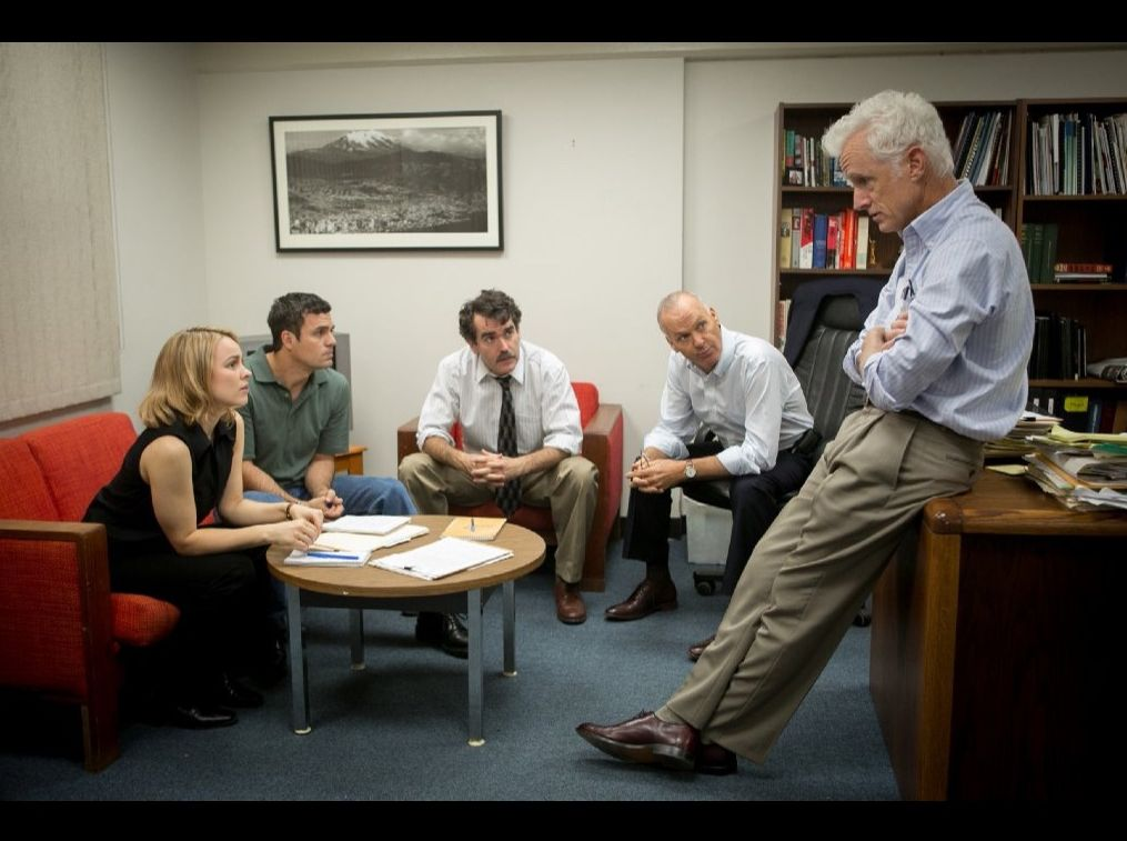 Spotlight meets up with their boss to discuss their next cas