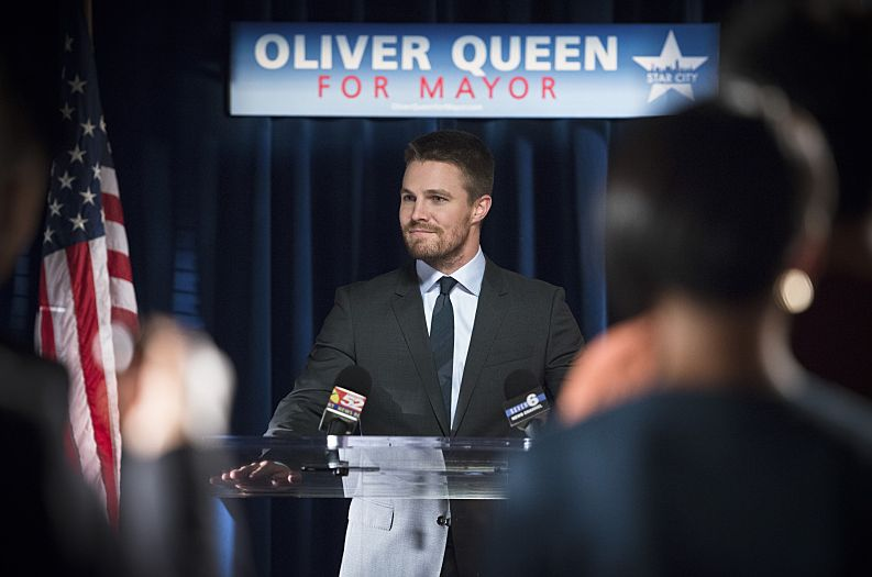 Oliver Queen's mayoral speech