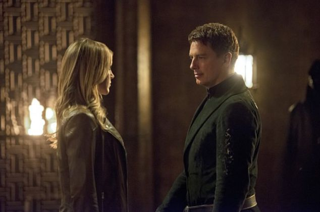 Laurel Lance & Malcolm Merlyn (the new Ra's)