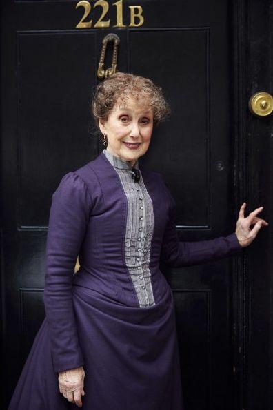 Una Stubbs as Mrs. Hudson