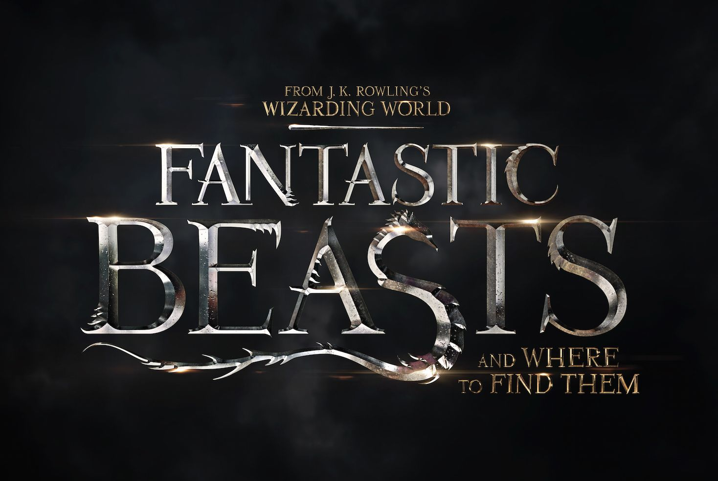Title Artwork Revealed for Fantastic Beasts and Where to Fin