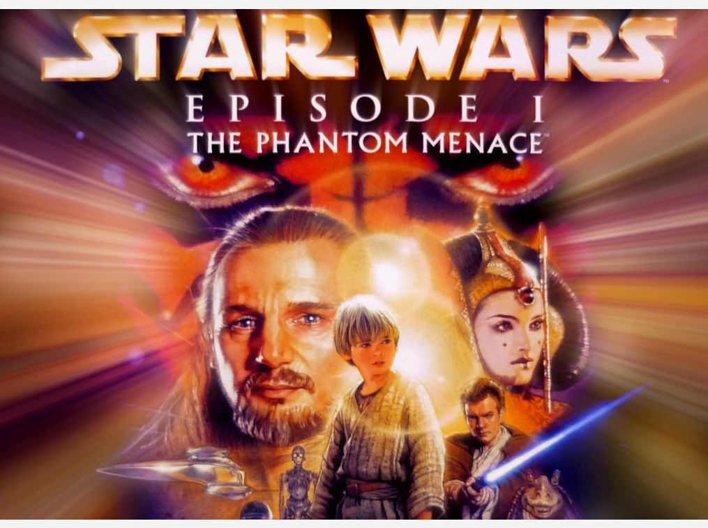 Star Wars: The Phantom Menace poster