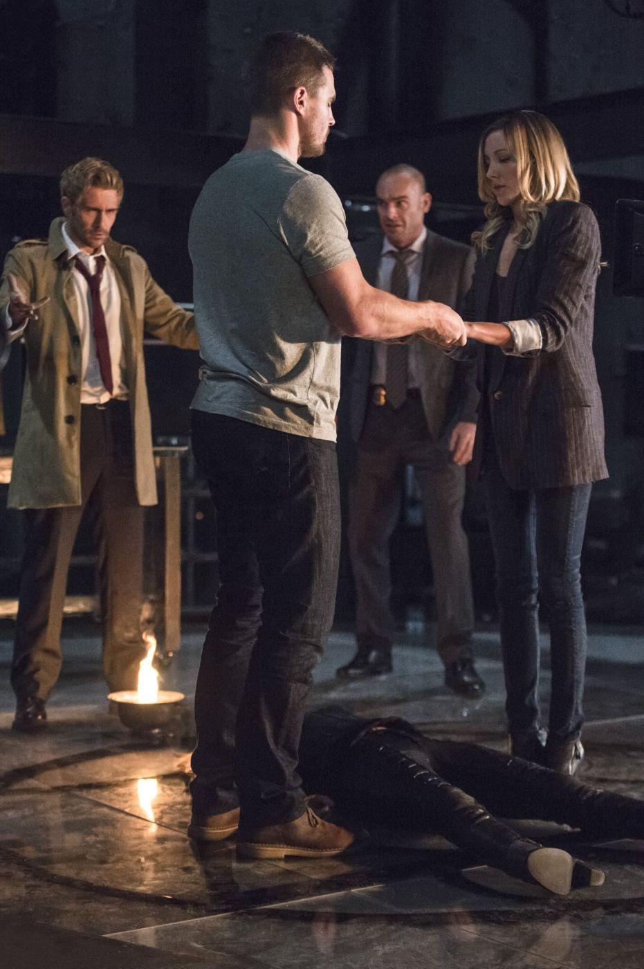 Oliver Queen Tattoo From Constantine: #ConstantineOnArrow: Arrow Season 4, Episode 5 Review