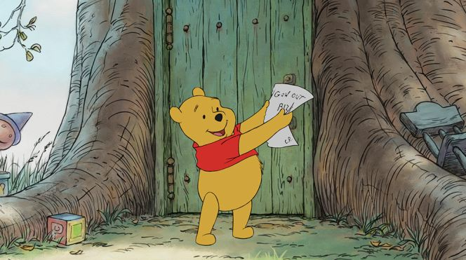"A Live Action version of ""Winnie the Pooh"" is in the works!"