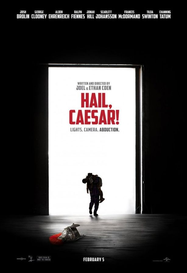 First poster for Hail, Caesar! from the Coen brothers