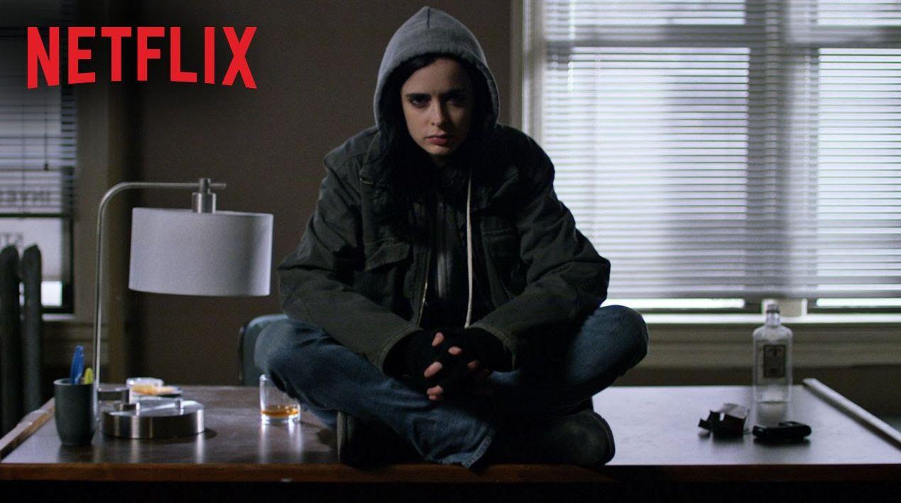 Krysten Ritter as Jessica Jones in Netflix's new series