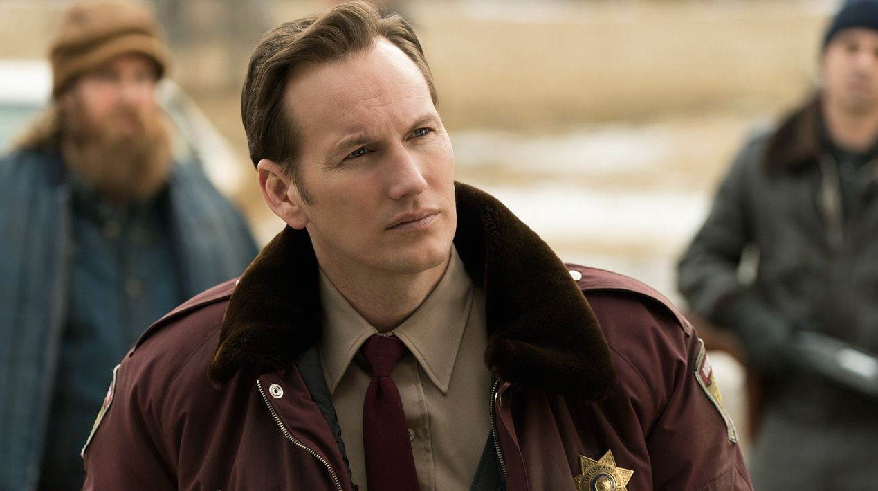 Patrick Wilson as Lou Solverson in Fargo Season 2