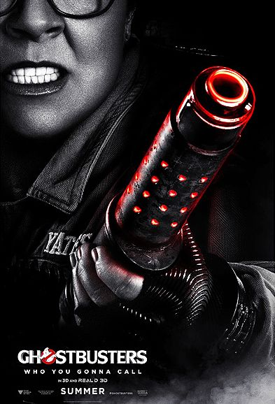 Ghostbusters Poster - Abby Yates (Melissa McCarthy)