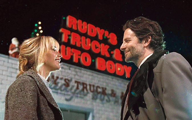 "Jennifer Lawrence and Bradley Cooper in ""Joy""."