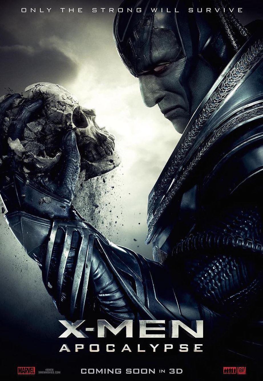 Only the strong will survive in the new X-Men: Apocalypse po
