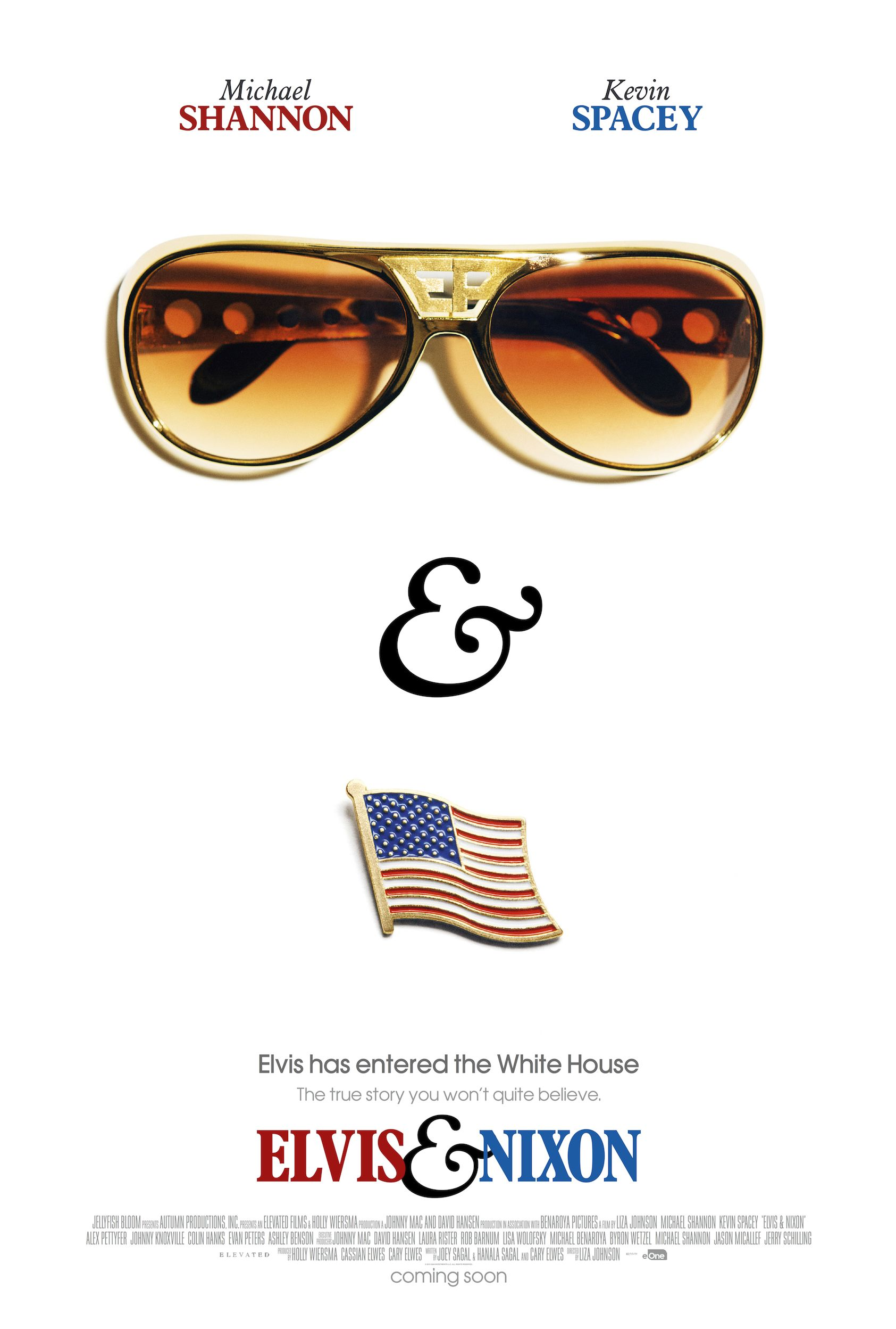 First Teaser Poster for 'Elvis & Nixon' Starring Kevin Space