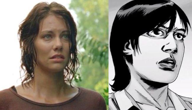 Lauren Cohan as Maggie Greene in The Walking Dead