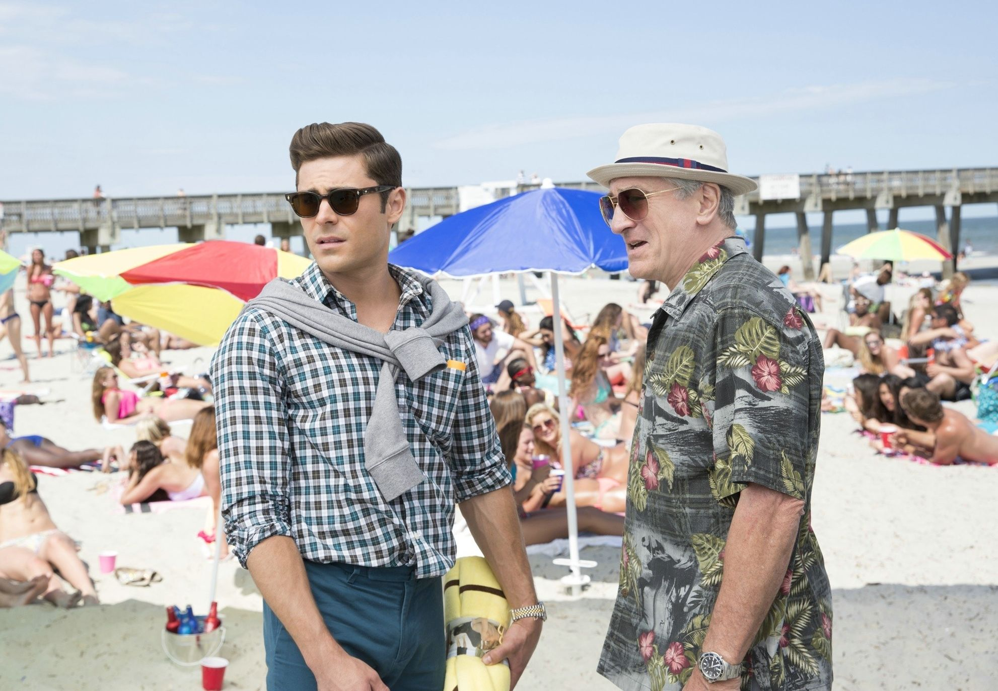 "Zac Efron and Robert De Niro in ""Dirty Grandpa"""