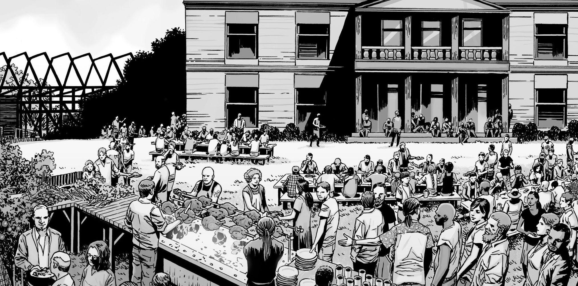 The Walking Dead - Hilltop Community