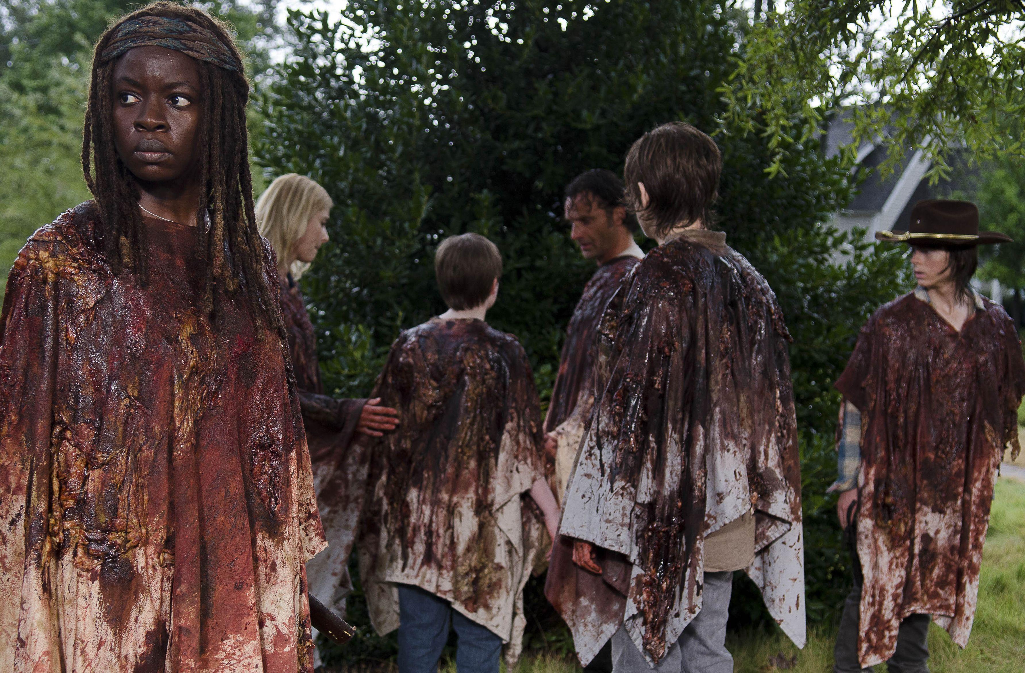 Michonne in The Walking Dead 6X09