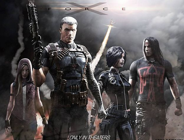 X-Force concept art