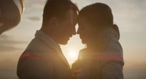 """Michael Fassbender and Alicia Vikander in """"The Light Between"""
