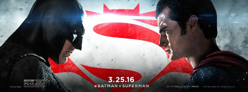 Batman v Superman: Dawn of Justice banner