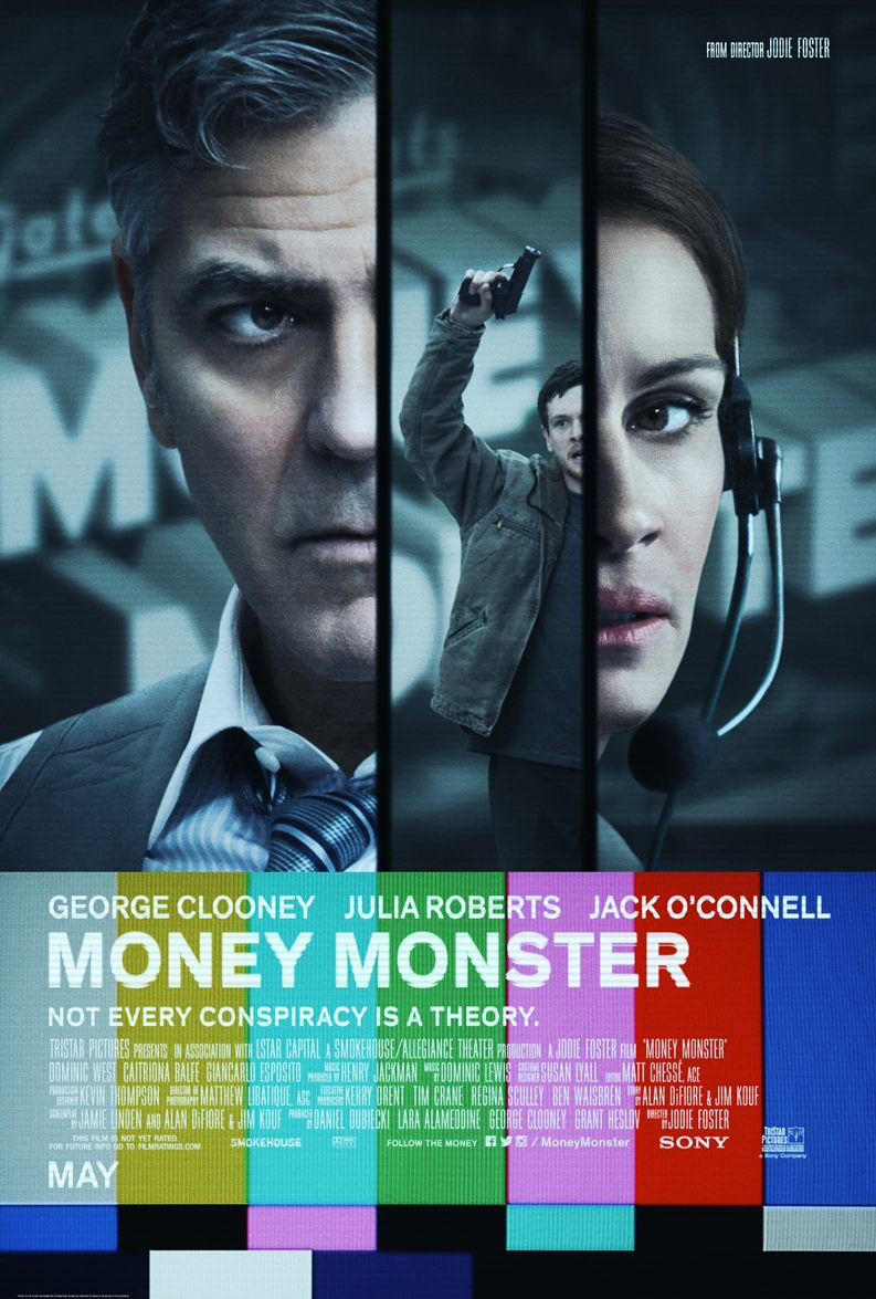 New poster for George Clooney's Money Monster