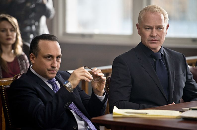 Damian Darhk and his attorney
