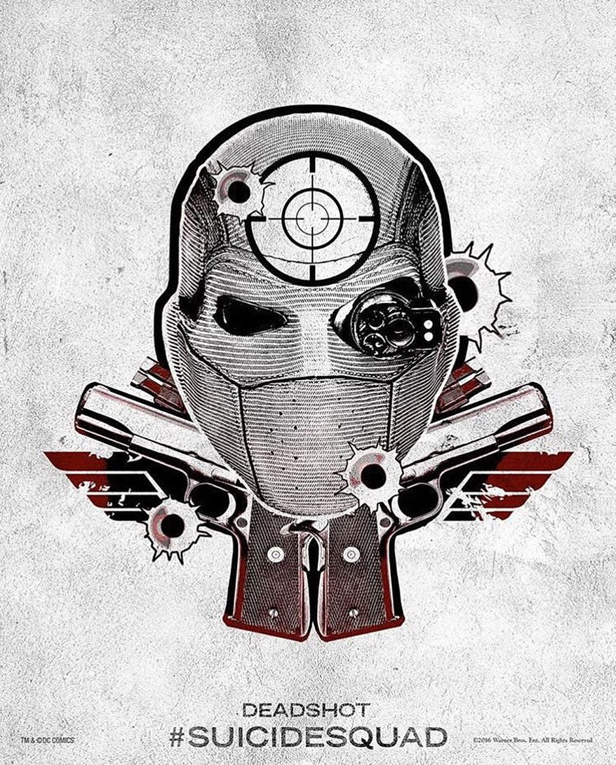 Harley Quinn S Tattoo Parlor Poster Deadshot Cultjer