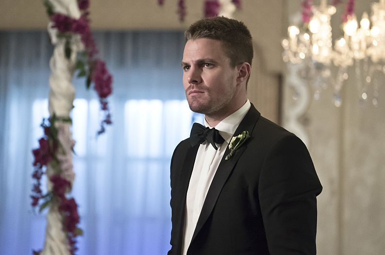 """Oliver Queen on his """"wedding day"""""""