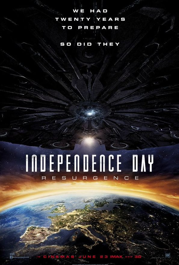 New International Poster for Independence Day: Resurgence