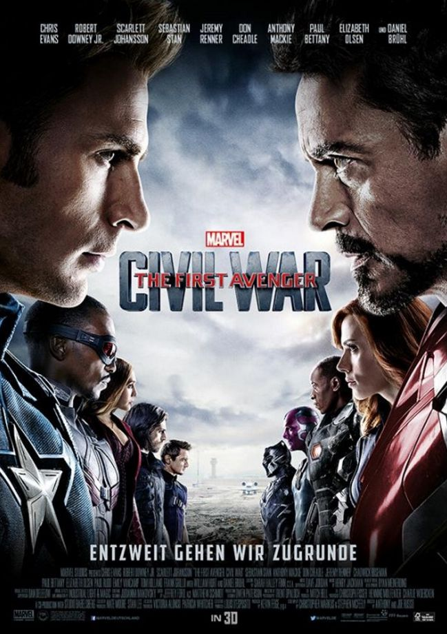 Captain America Unmasked in new International Poster