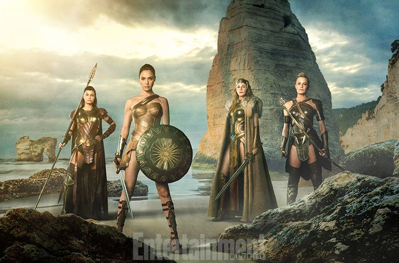 Epic new Image Features Wonder Woman and the Amazons ahead o