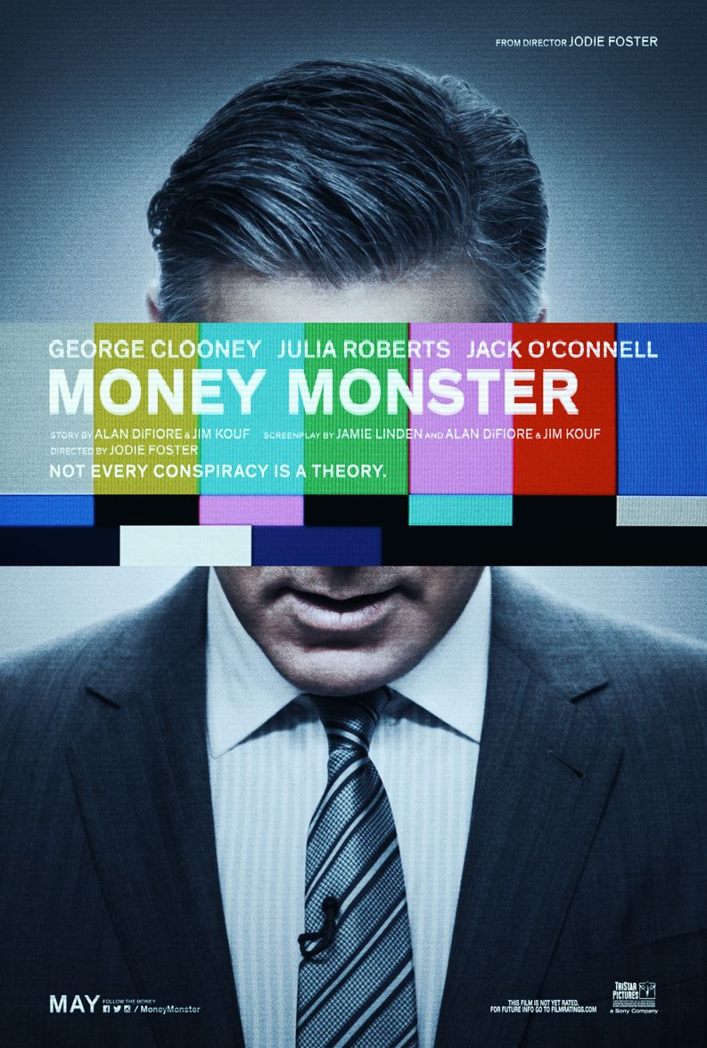 Official poster for George Clooney's 'Money Monster'