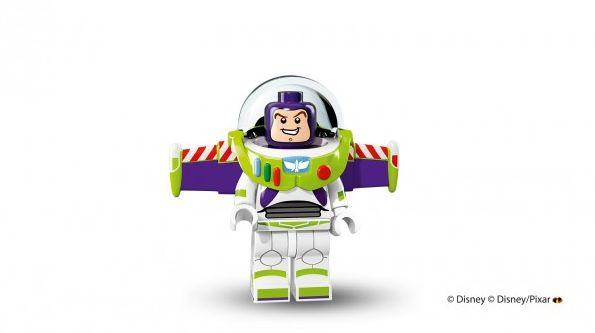 Buzz Lightyear in Lego form