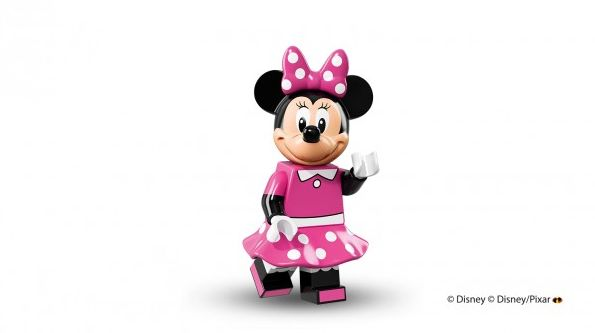 Minnie Mouse in Lego minfigure form