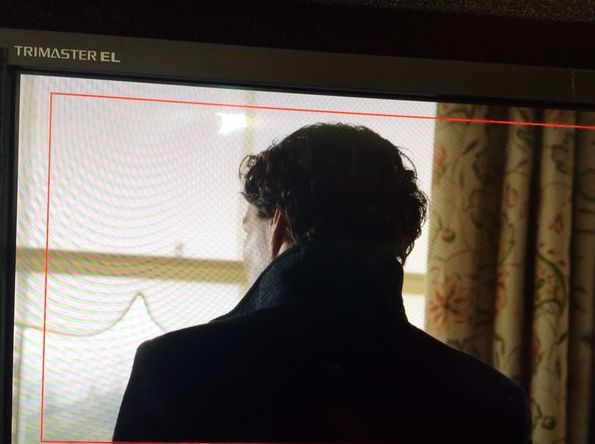First image of Benedict Cumberbatch for the new season of 'S