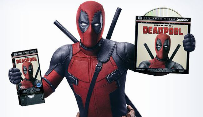 Deadpool will arrive on Blu Ray and DVD on May 10