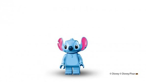 Stitch in Lego minifigure form