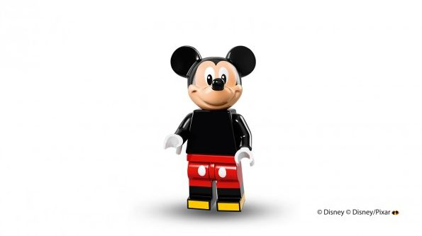 Mickey Mouse in Lego minifigure form