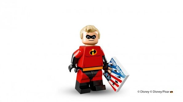 Mr. Incredible in Lego minifigure form