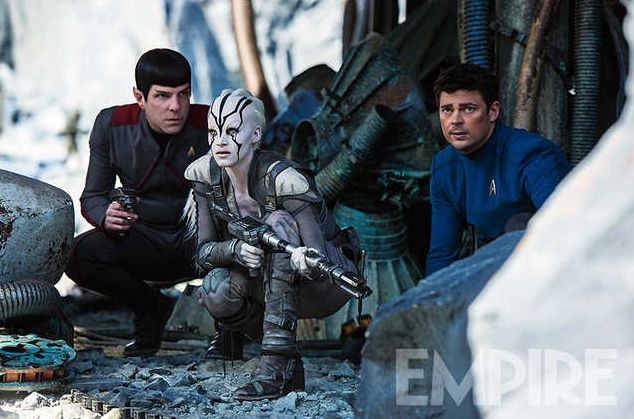 Star Trek Beyond image features Sofia Boutella as the alien