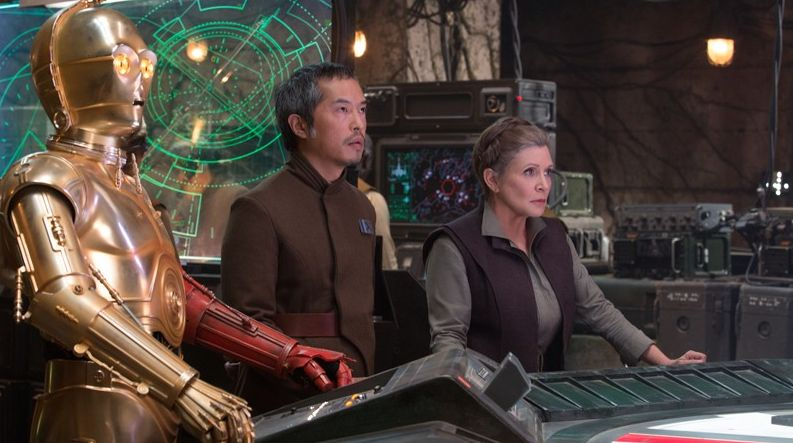 General Leia Organa in Star Wars: The Force Awakens