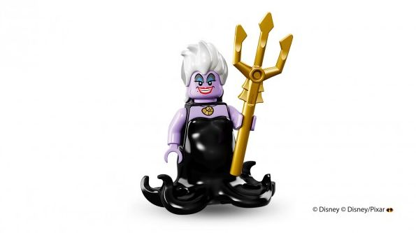 Ursula in Lego minifigure form