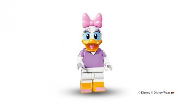 Daisy Duck in Lego form