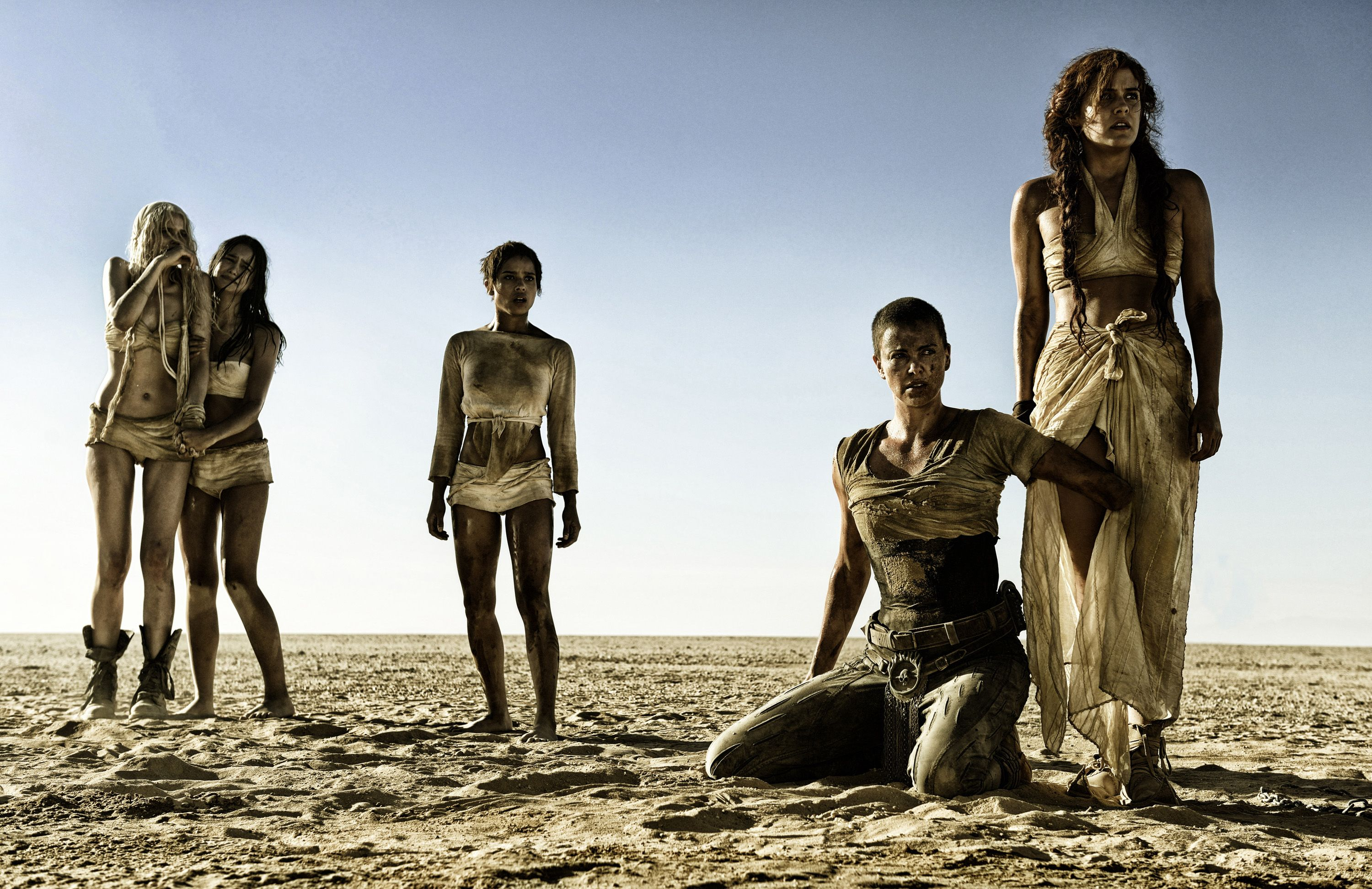 The women of Mad Max: Fury Road