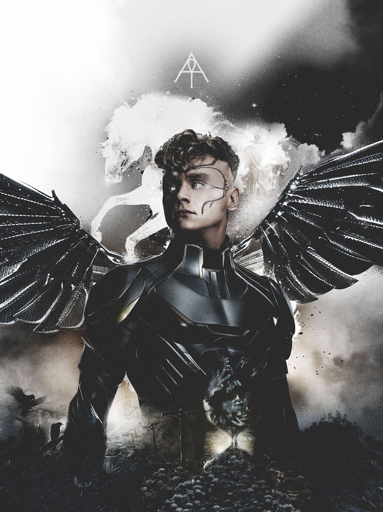 X Men Angel magazine: X-Men Apocal...